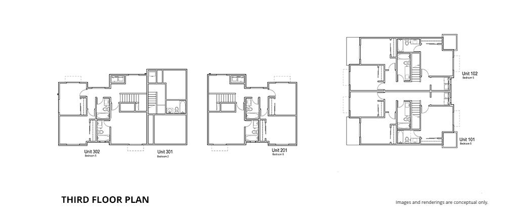 12 third floor plan