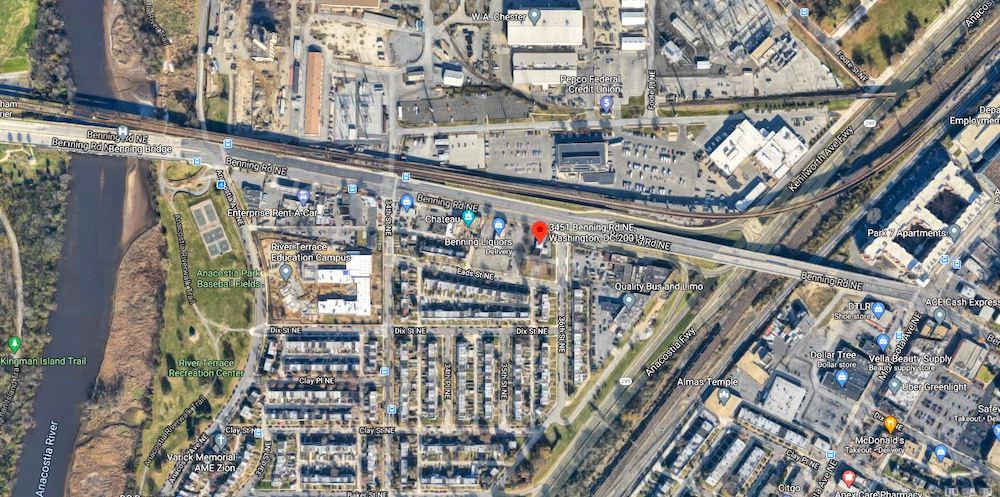 3451 benning   google maps image